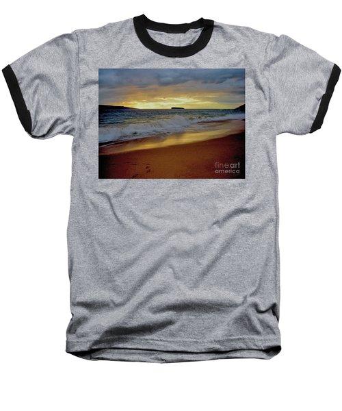 The Aura Of Molokini Baseball T-Shirt by Victor K