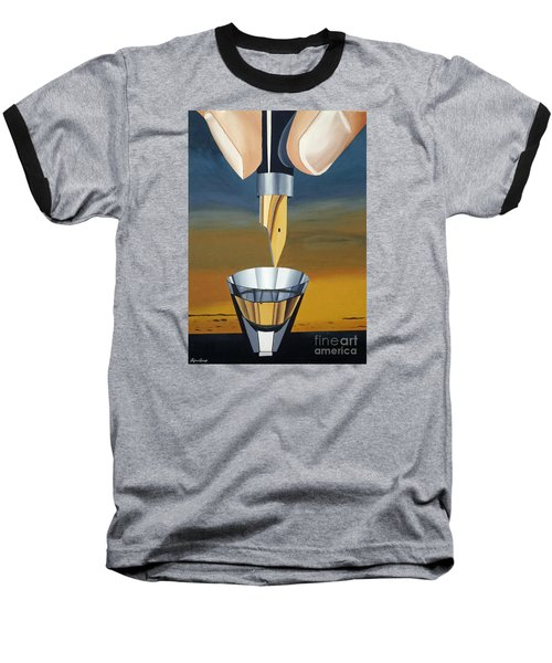 The Author Baseball T-Shirt by Lyric Lucas