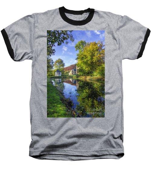 The Autumn Pond Baseball T-Shirt