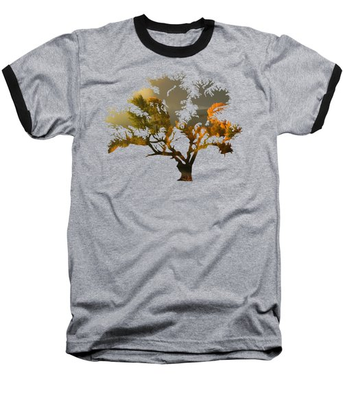 The Autumn Tree Baseball T-Shirt