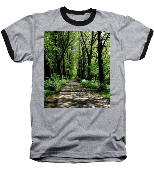 The Avenue Of Limes At Mill Park 3 Baseball T-Shirt