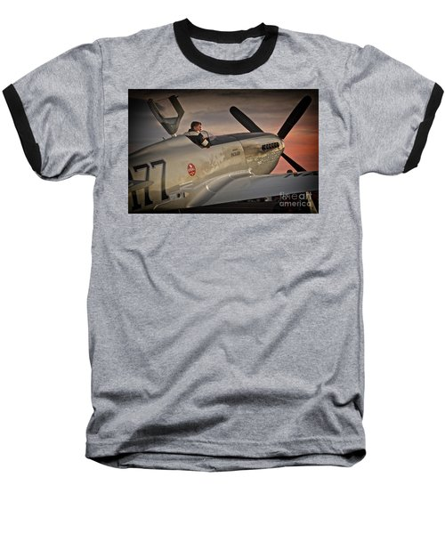 The Aviator Jimmy Leeward Redux For Tees Baseball T-Shirt