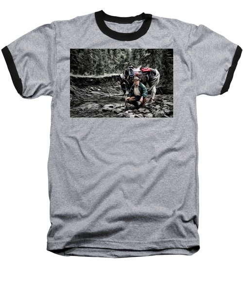 The Back Country Guardian Baseball T-Shirt