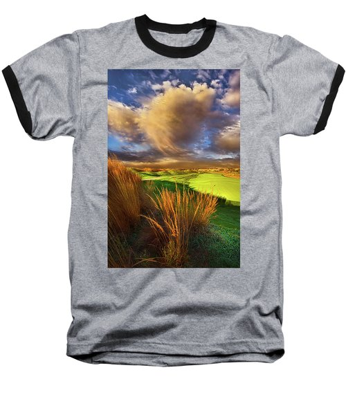 Baseball T-Shirt featuring the photograph The Back Nine by Phil Koch