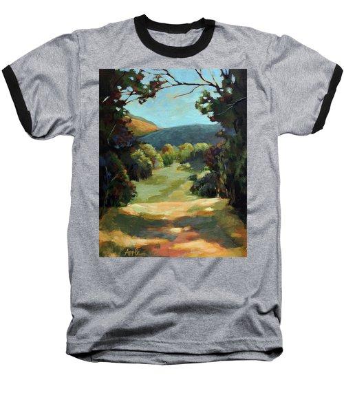 The Backroads - Original Oil On Canvas Summer Landscape  Baseball T-Shirt
