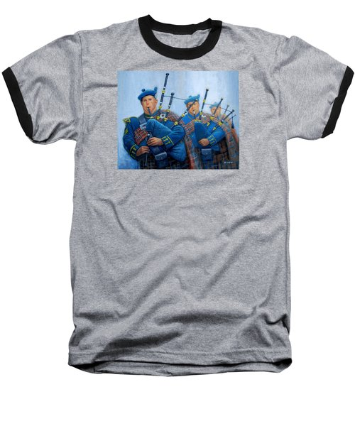 The Bagpipers Baseball T-Shirt
