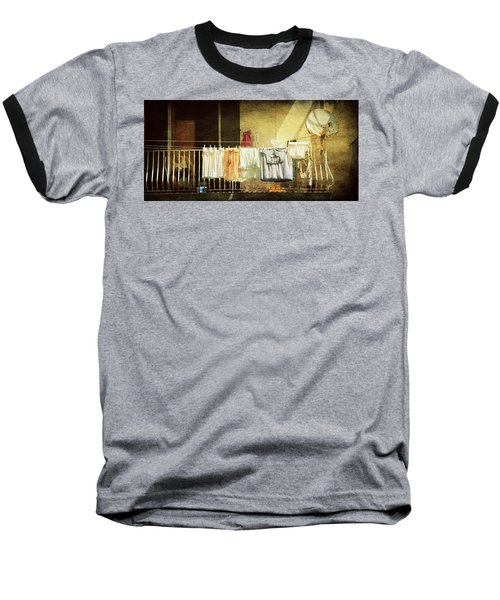 The Balcony Baseball T-Shirt