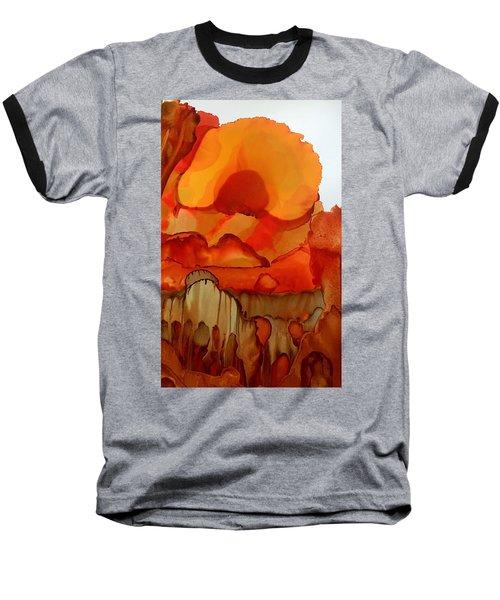 The Ball Of Fire Baseball T-Shirt