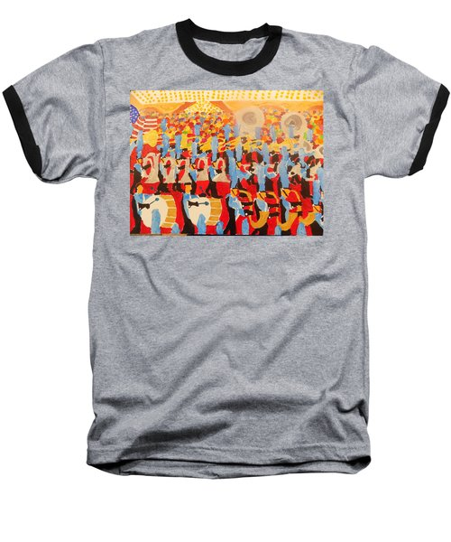 The Band Baseball T-Shirt by Rodger Ellingson