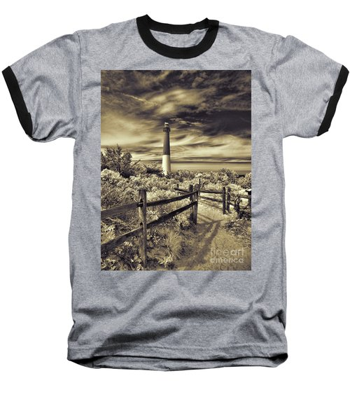 The Barnegat Lighthouse New Jersey Baseball T-Shirt