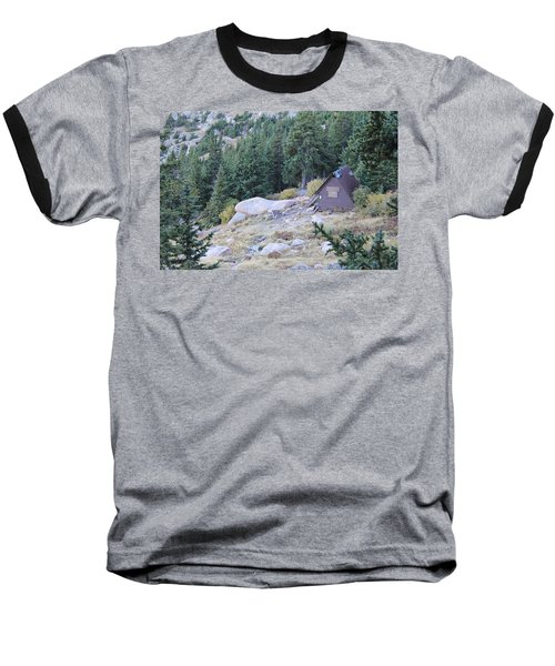 The Barr Trail A Frame Baseball T-Shirt by Christin Brodie