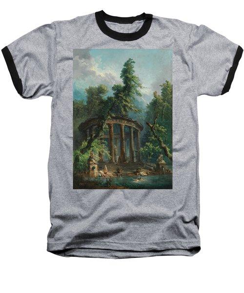 The Bathing Pool Baseball T-Shirt