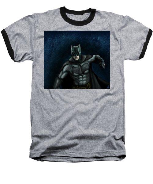 The Batman Baseball T-Shirt by Vinny John Usuriello