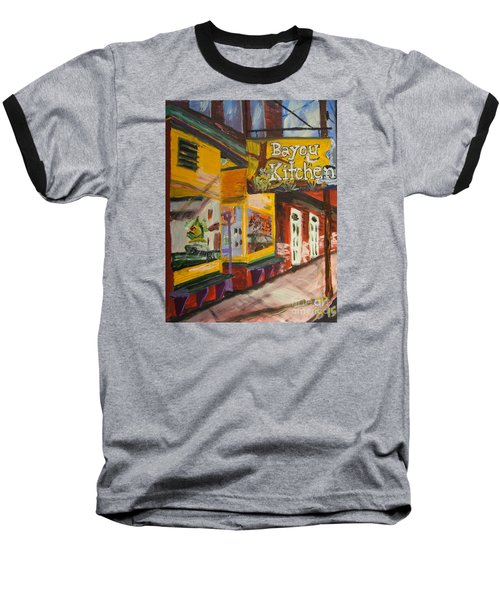 The Bayou Kitchen Baseball T-Shirt