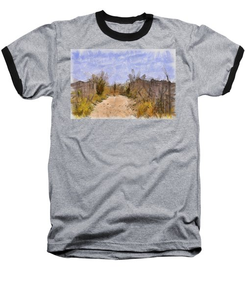 The Beach Awaits Baseball T-Shirt