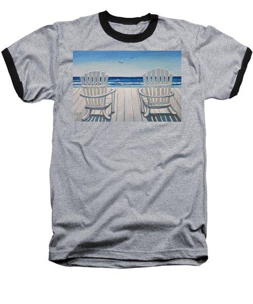 The Beach Chairs Baseball T-Shirt