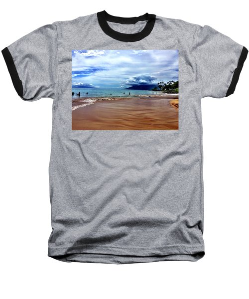 The Beach Baseball T-Shirt by Michael Albright