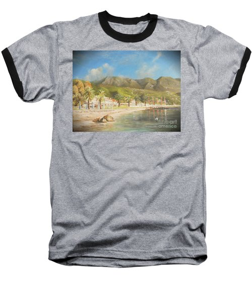 The Beach Of Ipsos Baseball T-Shirt