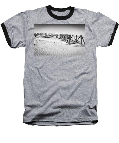 The Beach Walkway. Baseball T-Shirt