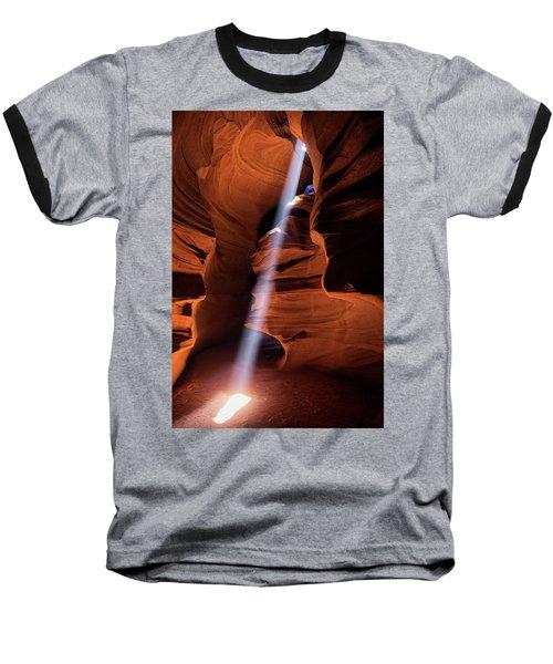 The Beam Of Light Baseball T-Shirt