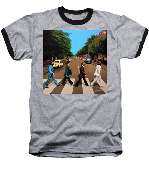 The Beatles Abbey Road Baseball T-Shirt