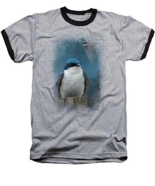 The Beautiful Tree Swallow Baseball T-Shirt