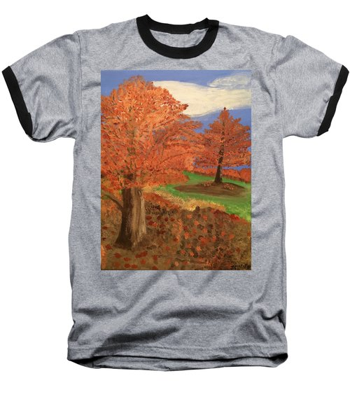 The Beauty Of Autumn  Baseball T-Shirt