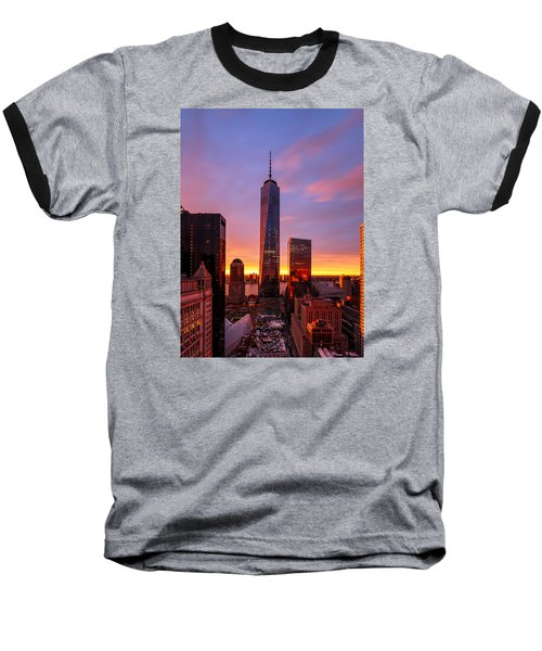 The Beauty Of God Baseball T-Shirt by Anthony Fields