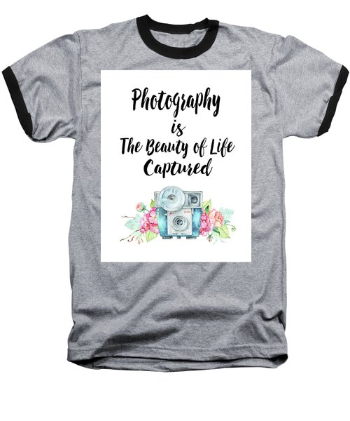 Baseball T-Shirt featuring the digital art The Beauty Of Life by Colleen Taylor