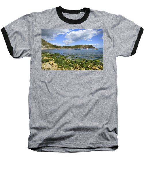 Baseball T-Shirt featuring the photograph The Beauty Of Lulworth Cove by Ian Middleton