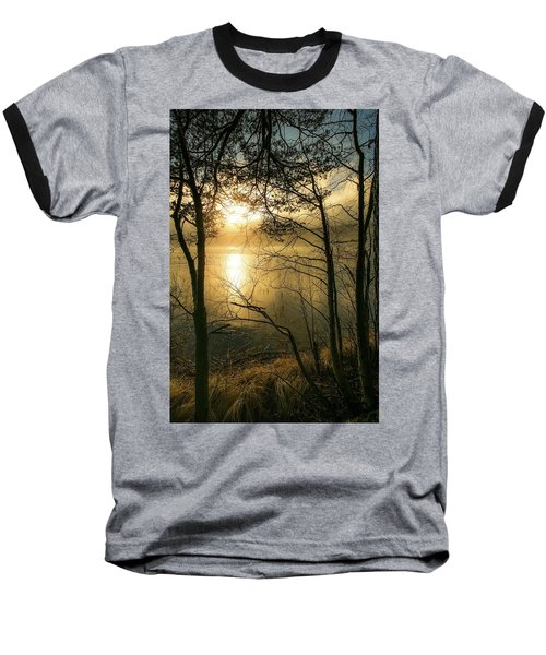 The Beauty Of Nature Baseball T-Shirt by Rose-Marie Karlsen