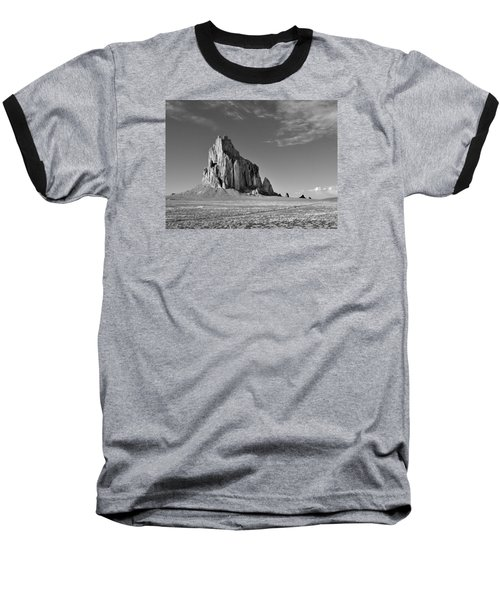 The Beauty Of Shiprock Baseball T-Shirt by Alan Toepfer