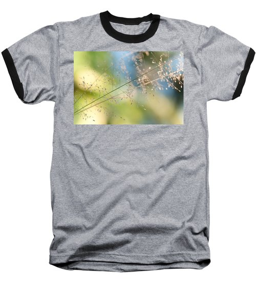 The Beauty Of The Earth. Natural Watercolor Baseball T-Shirt by Jenny Rainbow