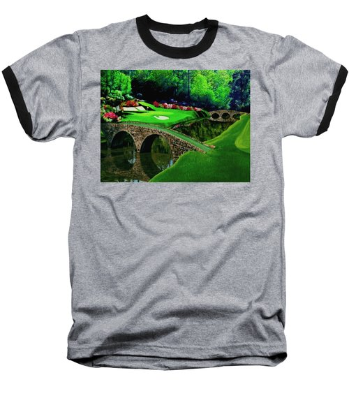 The Beauty Of The Masters Cropped Version Baseball T-Shirt
