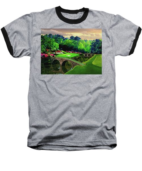 The Beauty Of The Masters Baseball T-Shirt by Ron Chambers