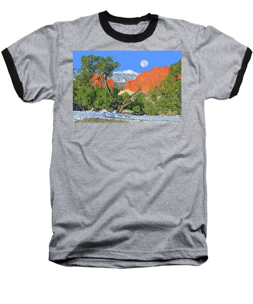 The Beauty That Takes Your Breath Away And Leaves You Speechless. That's Colorado.  Baseball T-Shirt