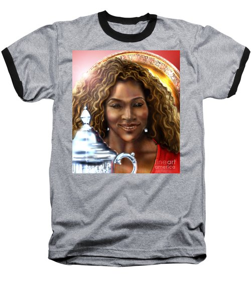 The Beauty Victory That Is Serena Baseball T-Shirt