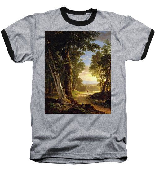 The Beeches By Asher Brown Durand Baseball T-Shirt