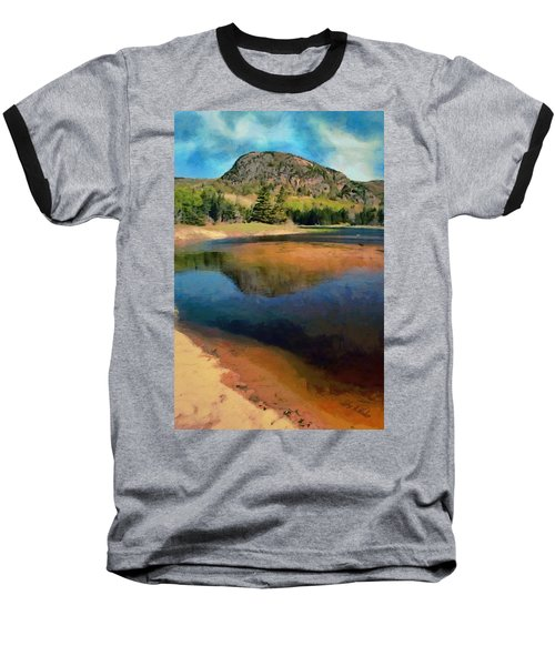 Baseball T-Shirt featuring the painting The Beehive by Jeff Kolker