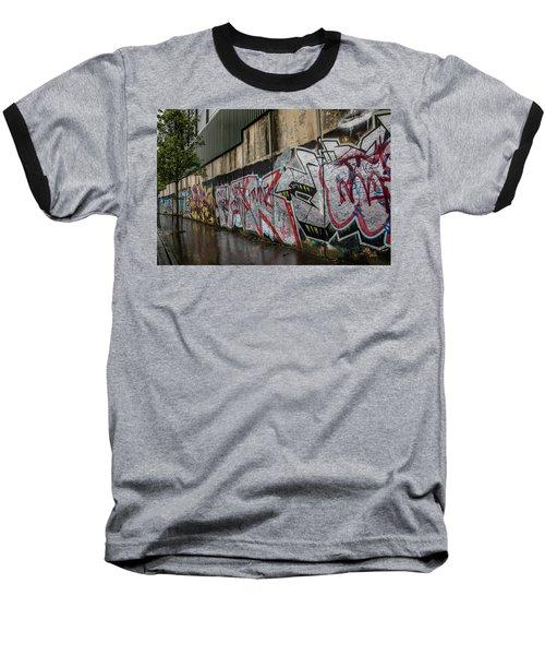 The Belfast Peace Wall Baseball T-Shirt