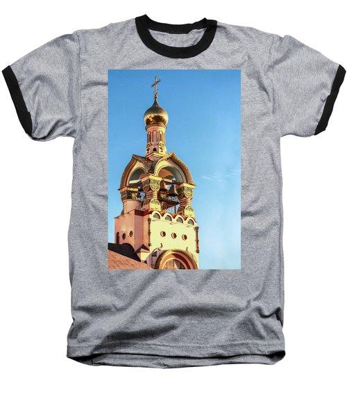 The Bell Tower Of The Temple Of Grand Duke Vladimir Baseball T-Shirt
