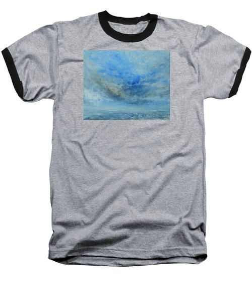 Baseball T-Shirt featuring the painting The Best Is Yet To Come by Jane See