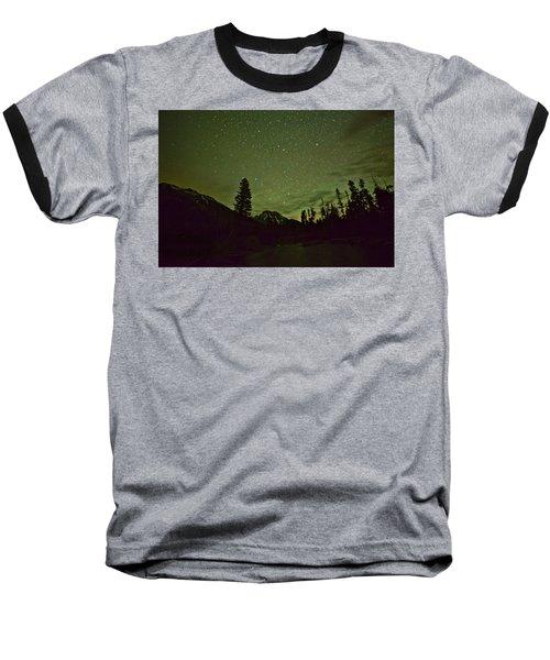 The Big Dipper Over Mount Moran Baseball T-Shirt