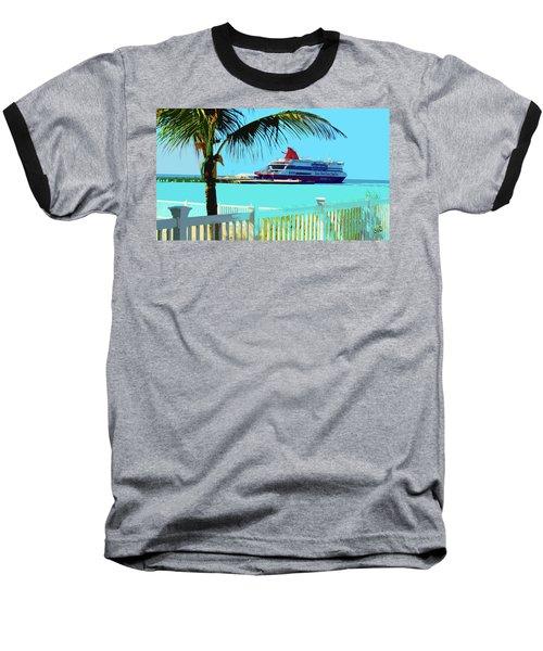 The Bimini Boat Baseball T-Shirt