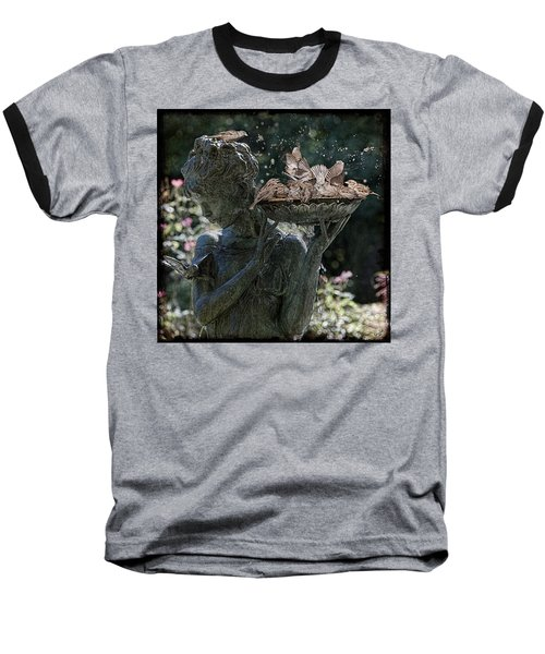 The Bird Bath Baseball T-Shirt
