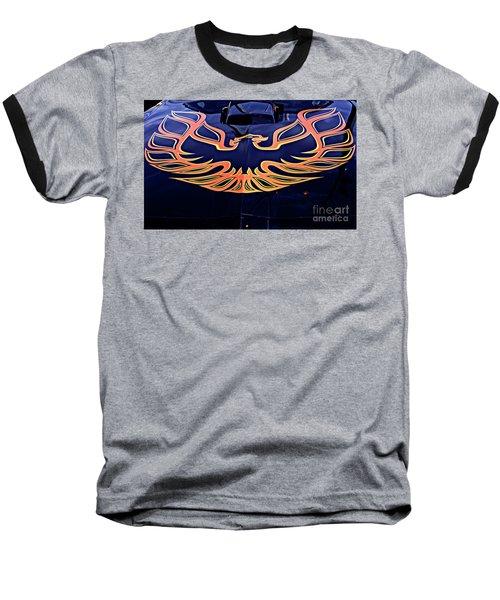 The Bird - Pontiac Trans Am Baseball T-Shirt