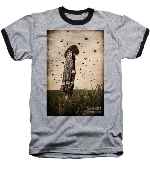 The Birds Baseball T-Shirt