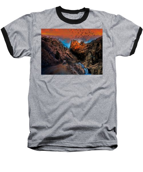 The Birds Of Window Rock Baseball T-Shirt by J Griff Griffin