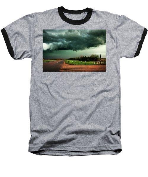 The Birth Of A Funnel Cloud Baseball T-Shirt