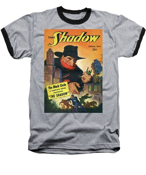 The Shadow The Black Circle Baseball T-Shirt